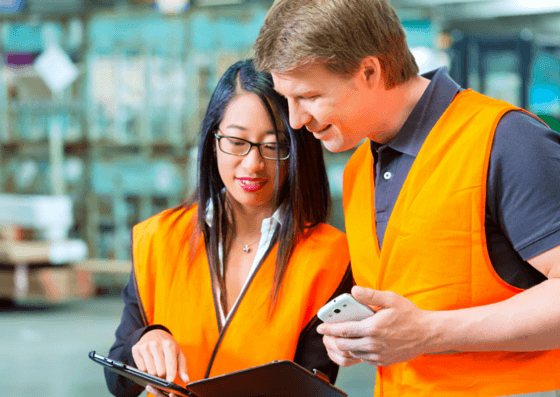 Materials handling and content marketing