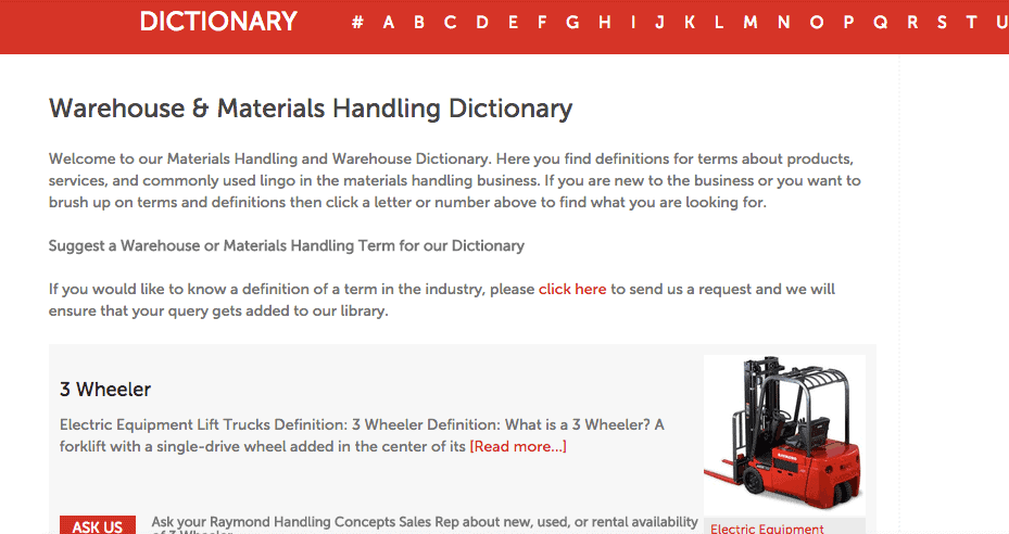 Increase site traffic with an online dictionary